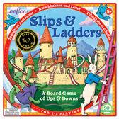eeBoo 美國益智桌遊Slips Ladders 龜兔競賽