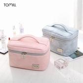 旅行便攜簡約軟妹可愛少女ins網紅化妝包大容量化妝品收納包 js22066『科炫3C』
