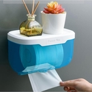 衛生紙架 家用衛生間廁所卷紙巾盒廁紙抽紙巾架衛生紙置物架免打孔壁掛式【快速出貨八折搶購】