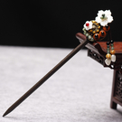 特賣髮簪復古民族風步搖發簪子流蘇古風漢服頭飾發釵盤發古典宮廷木簪發飾