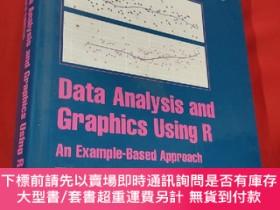 二手書博民逛書店Data罕見Analysis and Graphics Using R: An Example-Based App
