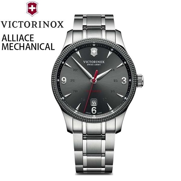 【萬年鐘錶】瑞士VICTORINOX 維氏 ALLIANCE聯盟系列械機腕錶 VISA-241714.1