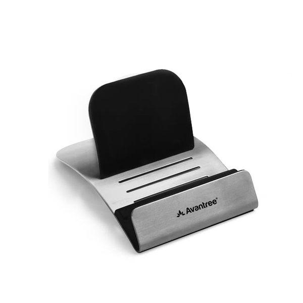 Avantree Decker 不鏽鋼平板架 手機座,防滑墊設計方便觀賞影片或充電,海思代理