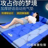 野餐墊野餐戶外防潮墊超輕自動充氣墊子雙人加寬帳篷睡墊三3-4人加厚5cm LH3384【3C環球數位館】