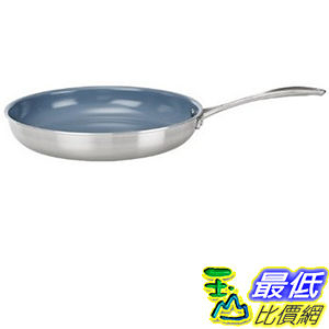 [104美國直購] 德國雙人牌 平煎鍋 不沾鍋 64010-261 Zwilling J.A.Henckels Twin Spirit Thermolon Fry Pan 10 Inch