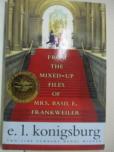【書寶二手書T1/原文小說_G1D】From the Mixed-Up Files of Mrs. Basil E. Frankweiler