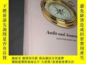 二手書博民逛書店Audit罕見and Assurance( QUESTION BANK 2020)Y436455 Icaew