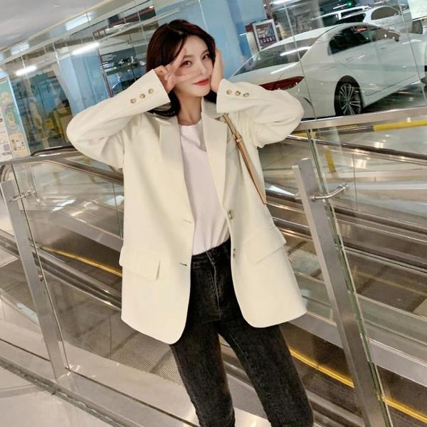 小西裝外套女韓版設計感套裝小個子西服【毒家貨源】