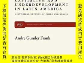 二手書博民逛書店Capitalism罕見And Underdevelopment In Latin America-拉丁美洲資本主