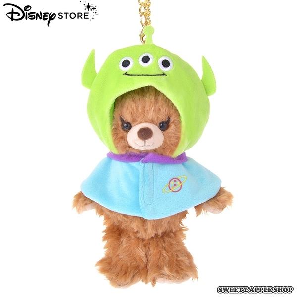 日本限定 Disney Store   迪士尼 玩具總動員 三眼怪 吊飾玩偶專用 衣物配件