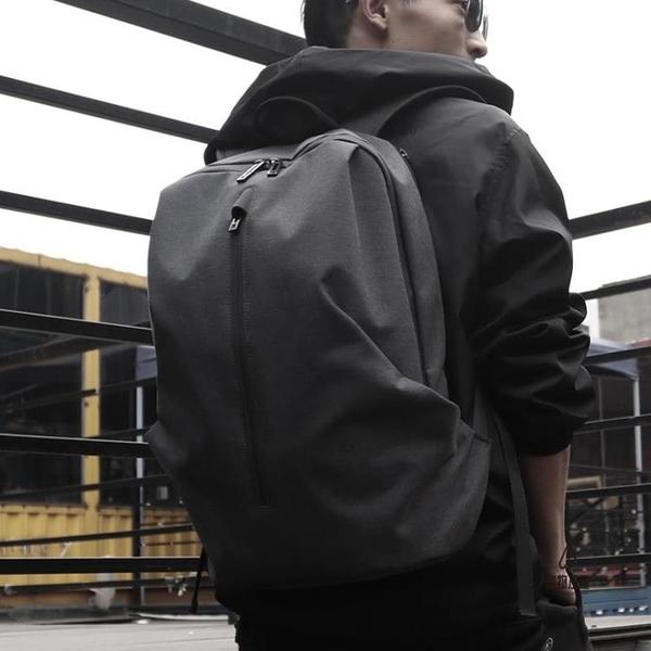 後背包休閒15.6寸書包電腦包旅行包男【愛物及屋】
