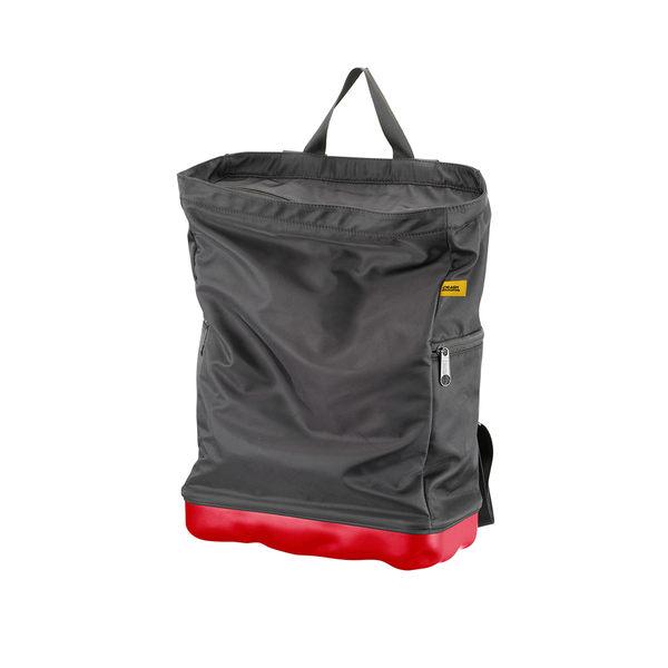 Crash Baggage Bump Bags, 13 吋 前衛霧面 龐克系列 防潑水 後背包 / 筆電包(黑色袋身 - 火焰紅硬殼)