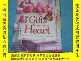 二手書博民逛書店(英文原版)GIFTS罕見FROM MY HEART (我心中的
