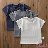 三件裝 棉質男童短袖t恤衫全棉圓領竹節棉半袖寶寶夏裝純色