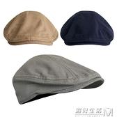 單層薄款鴨舌帽子復古亞麻特價貝雷帽春夏透氣麻料鴨舌帽男女帽子