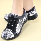 【當季新品】.MODO*專利呼吸鞋/網布真皮混搭/舒適內裡-THE ONE 氣墊鞋-Y88807 黑