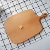 春季上新 整木式櫸木實木砧板菜板面包板披薩板水果板托盤廚房烘培用品