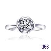 ides愛蒂思 設計款30分F/VVS2八心八箭頂級3EX車工鑽石戒指/優雅人生