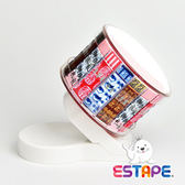 【ESTAPE】易撕貼膠台(45°新穎設計鋼琴白質感)搭配易撕貼-和風組合抽取式OPP膠帶 特惠組