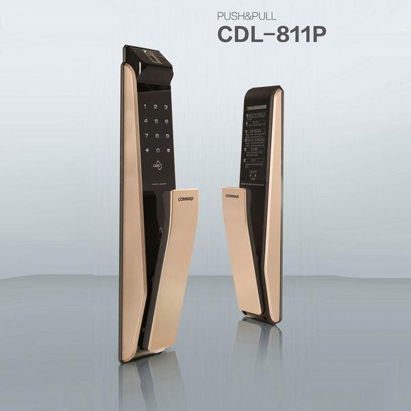 康邁世電子鎖 COMMAX CDL-811 P/R 新款多功能推拉電子鎖 IP HONE級3DTOUCH(包含施工)