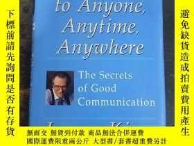 二手書博民逛書店英文原版:罕見How to Talk to Anyone, An