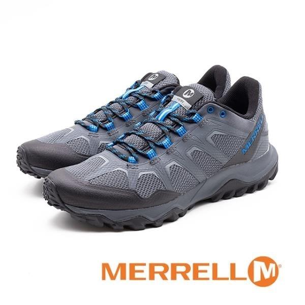 【南紡購物中心】MERRELL (男) FIERY 運動 低筒戶外鞋 男鞋-灰(另有黑)