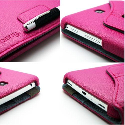 Redberry Samsung Galaxy Tab3 7吋 專用 旋轉式 荔枝紋皮套