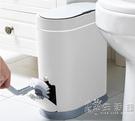 佳幫手智慧感應垃圾桶家用衛生間自動開蓋廁所廚房客廳創意電動窄 小時光生活館