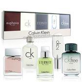 Calvin Klein 卡文克萊 男性小香水禮盒5入組【美人密碼】