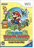 二手片-WII 超級紙片瑪利歐  日文版PLAY-小無電玩
