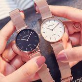 防水超薄手錶時尚簡約潮流女士石英錶