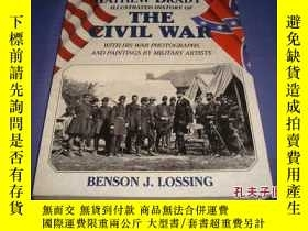 二手書博民逛書店Matthew罕見Brady s Illu strated History of The Civil War P