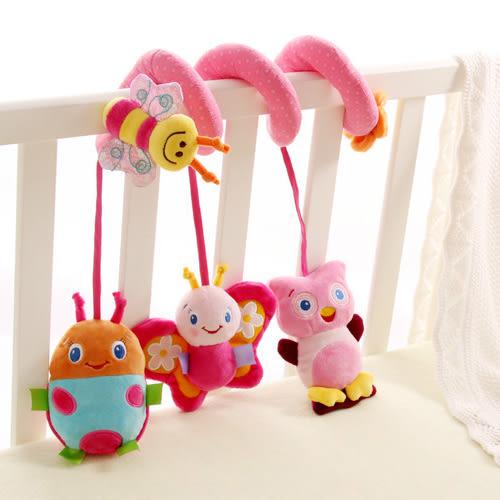 嬰兒玩具 多功能音樂床繞玩具 瓢蟲蜜蜂蝴蝶