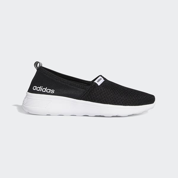 Adidas Lite Racer Slip On W [F98974] 女鞋 運動 休閒 慢跑 透氣 穿搭 愛迪達 黑