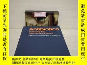 二手書博民逛書店Antibiotics罕見Containing the Beta-Lactam Strure l【详情看图,馆藏】