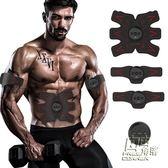 腹部貼健身器材家用鍛煉套裝練臂肌胸肌腹肌肌肉健腹器懶人訓練器igo 自由角落