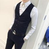 男士正裝大碼新郎馬甲西服外套韓版修身小西裝 JH1946『男人範』