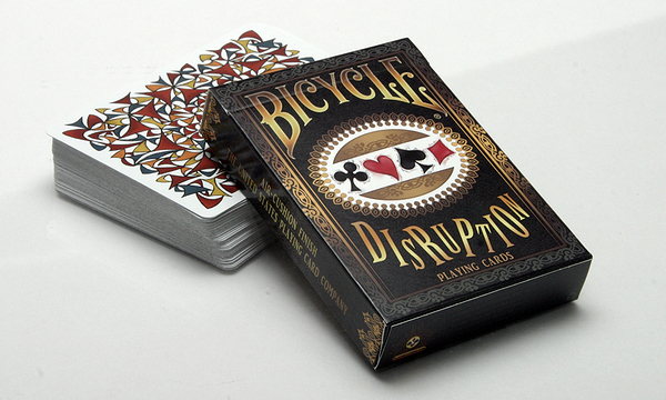 【USPCC 撲克】Bicycle disruption playing cards