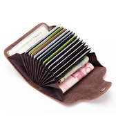 超質感卡包 卡夾 風琴式卡包 多卡位 信用卡夾【CL3324】 icoca  01/04