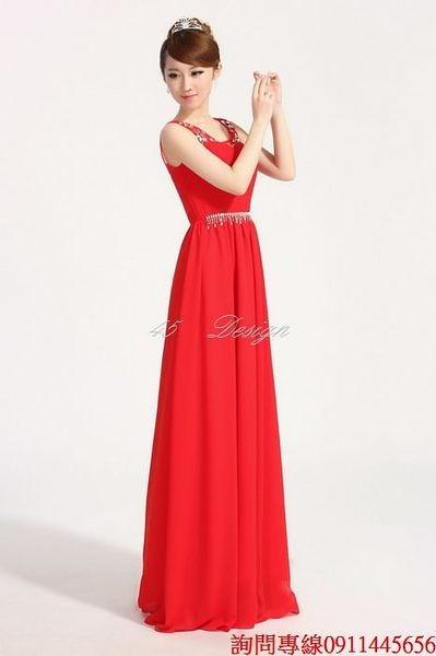 (45 Design) 訂做款式7天到貨 專業訂製款 中大尺碼 定做顏色 長禮服 結婚 喜宴 尾牙 春酒 拖尾