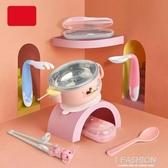 圣菲寶寶注水保溫碗保溫碗嬰幼兒注水碗兒童餐具套裝嬰兒保溫飯碗-ifashion