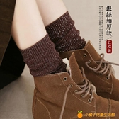 堆堆襪女秋冬金銀絲長襪長筒日系加厚棉襪中筒襪【小橘子】