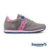 SAUCONY JAZZ LOWPRO 經典復古女鞋-灰可x粉紅