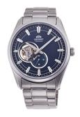 東方錶 ORIENT 鏤空 經典機械錶 (RA-AR0003L) 藍/40mm
