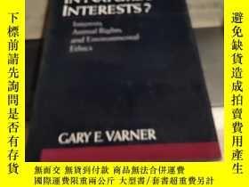 二手書博民逛書店in罕見natures interests? interests