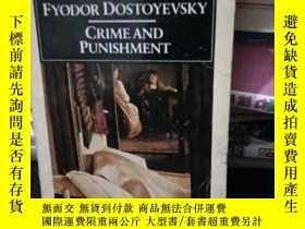 二手書博民逛書店FYODOR罕見DOSTOYEVSKY:CRIME AND PU