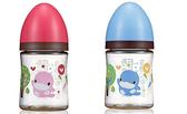 酷咕鴨歐風經典PES寬口奶瓶160ml【德芳保健藥妝】紅  藍 顏色隨機出貨