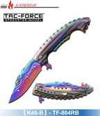 【EMS軍】美國TAC-FORCE人魚系戰術折刀#(K46)TF-864