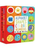Alphabet、Shapes、Colors、Numbers【字母、形狀、顏色、