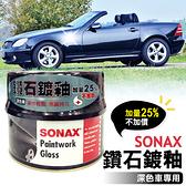 SONAX 鑽石鍍釉-深色車500ml 抗氧化.抗UV.防酸雨【亞克】
